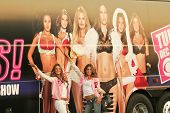 Alessandra Ambrosio and Izabel Goulart at the arrival of the Victoria's Secret Models via Private Jet to Burbank's Bob Hope Airport, Burbank, CA 11-14-06 Photo by
