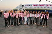 Victoria's Secret Models at the arrival of the Victoria's Secret Models via Private Jet to Burbank's Bob Hope Airport, Burbank, CA 11-14-06