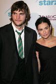 Ashton Kutcher and Demi Moore at the Hollywood Film Festival's 10th Annual Hollywood Awards Gala. Be