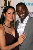 Derek Luke and wife Sophia at the Hollywood Film Festival's 10th Annual Hollywood Awards Gala. Beverly Hilton Hotel, Beverly Hills, CA. 10-23-06