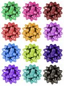 Gift Bows - 12 Colours