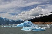 The Perito Moreno Glacier In The Los Glaciares National Park