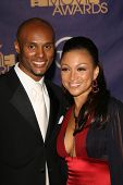 Kenny Lattimore and Chante Moore at the 2006 TNT Black Movie Awards. Wiltern Theatre, Los Angeles, C