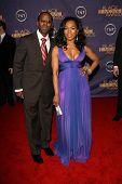 Courtney B. Vance and Angela Bassett at the 2006 TNT Black Movie Awards. Wiltern Theatre, Los Angeles, CA. 10-15-06