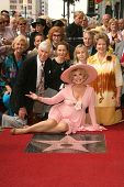 Ruta Lee with family at the award ceremony honoring Ruta Lee with a star on the Hollywood Walk of Fame. Hollywood Blvd., Hollywood, CA. 10-10-06
