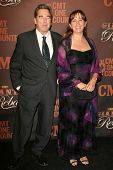 Beau Bridges and wife Wendy at the CMT Giants honoring Reba McEntire. Kodak Theatre, Hollywood, CA. 10-26-06