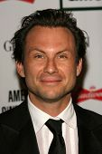 Christian Slater at the 21st Annual American Cinematheque Award Honoring George Clooney. Beverly Hilton Hotel, Beverly Hills, CA. 10-13-06