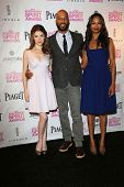 Anna Kendrick, Common and Zoe Saldana at the 2013 Film Independent Spirit Awards Nominations, W Hotel, Hollywood, CA 11-27-12