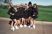 LAS VEGAS - OCTOBER 15 Playboy Participents at the Playboy's Golf Scramble Semi Finals October 15, 2
