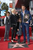 Hugh Jackman and Deborra-Lee Furness at the Hugh Jackman Star on the Hollywood Walk of Fame Ceremony