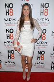 Katie Cleary at the NOH8 Campaign 4th Anniversary Celebration, Avalon, Hollywood, 12-12-12