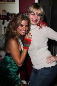 Bridgetta Tomarchio, Rena Riffel at Bridgetta Tomarchio's Birthday Party, Private Location, Los Angeles, CA 12-14-12