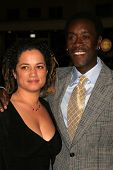 WESTWOOD, CA - NOVEMBER 05: Bridgid Coulter and Don Cheadle at a Special Presentation of