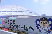 Nagoya Dome baseball stadium Nagoya Japan