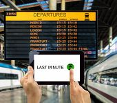 Search For Last Minute Deals In Station Train