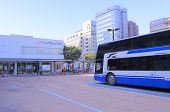JR Highway Bus terminal Nagoya Japan