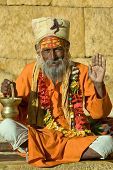 Indian Sadhu , Holy Man