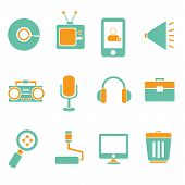 electronics device icons
