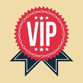 VIP Classic Vintage Badge