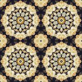 image of marquetry  - Abstract seamless artistic pattern - JPG