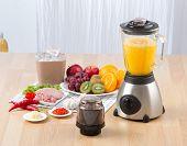 foto of multi purpose  - Multi purpose electric blender for make fruit juice or mash meat garlic or chili - JPG