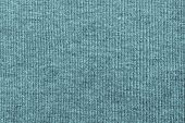 Abstract Texture Of Knitted Fabric Indigo Color