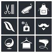 Hair Salon Icon Collection