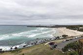 Durnanbah beach in New South Wales, Australia