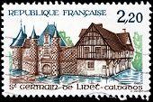 Calvados Stamp