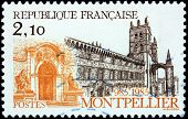 Montpellier Stamp