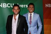 LOS ANGELES - JUL 14:  Josh Flagg, Josh Altman at the NBCUniversal July 2014 TCA at Beverly Hilton o