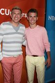 LOS ANGELES - JUL 14:  Todd Chrisley, Chase Chrisley at the NBCUniversal July 2014 TCA at Beverly Hi