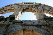 Ancient Roman Amphitheater in Pula