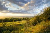 Rural Cotswolds at Sunset