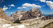 Panoramic View Of Dolomiti - Group Tofana