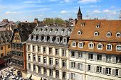 Cathedral Square In Strasbourg, France