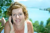 Redhead And Natural Woman Phone