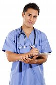 Male Health Care Worker