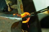 Hammering Glowing Steel - To Strike While The Iron Is Hot.
