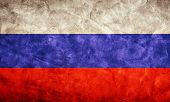 Russia grunge flag. Vintage, retro style. High resolution, hd quality. Item from my grunge flags collection.