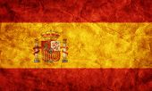 Spain grunge flag. Vintage, retro style. High resolution, hd quality. Item from my grunge flags collection.