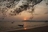 Sun set at Ao Nang Krabi