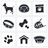 Doggy icon collection