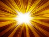 abstract background of sunshine