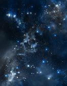abstract beautiful outer space