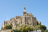 image of michel  - View to Mount St Michel in Normandy France - JPG