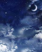 Beautiful nightly sky