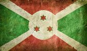 stock photo of burundi  - flag of Burundi - JPG