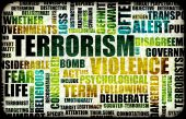 picture of terrorism  - Terrorism Alert or High Terrorist Threat Level - JPG