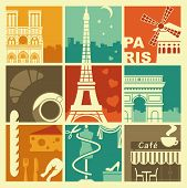 picture of french culture  - Traditional symbols of the French architecture - JPG